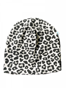 Leopardo - cuffia double face in cotone