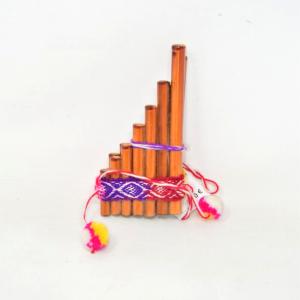 Flauto peruviano 15x7 cm