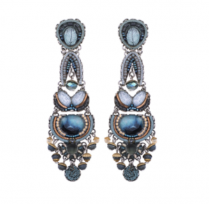 Blue Velvet Earrings