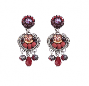 Ruby Love Earrings