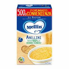 MELLIN PASTA ANELLINI 500g