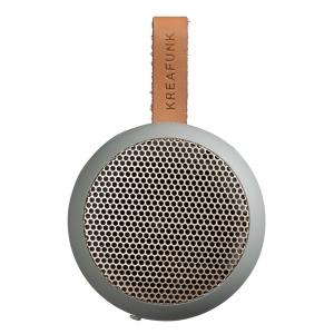 AGO altoparlante bluetooth splashproof con vivavoce - grigio