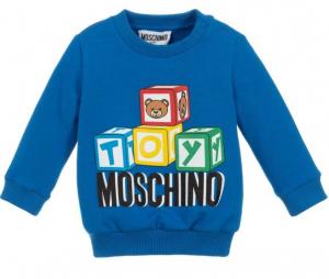 Felpa Moschino Azzurra