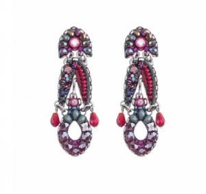Crimson Flame Earrings