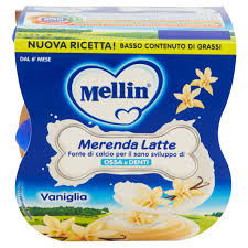 MERENDA LATTE VANIGLIA 2x100g
