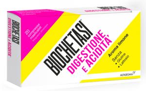 Biochetasi Digestione e acidità 20 compresse masticabili