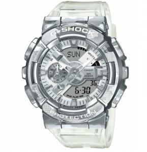 Casio G-Shock orologio analogico - digitale uomo camouflage trasparente