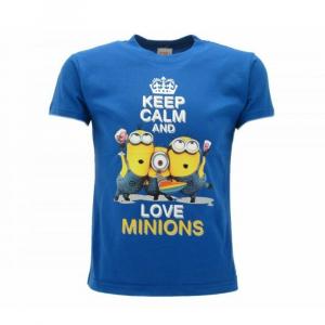 Maglietta taglia M manica corta Cattivissimo Me 3 keep calm Minions