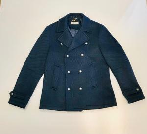 Cappotto Doppiopetto blu || Alta Tensione