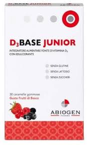 D3 BASE JUNIOR 30 caramelle arancia