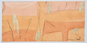 Cascella Tommaso Architetto di deserti Incisione Formato cm 60x120