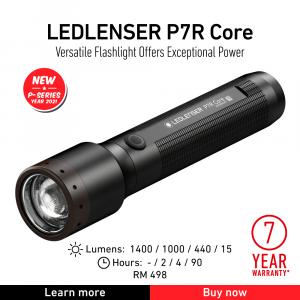 torcia led lencer P7R CORE
