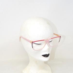 Eyeglasses Vintage Lozza Mod.1009 Col.123 57 13 135 Pink
