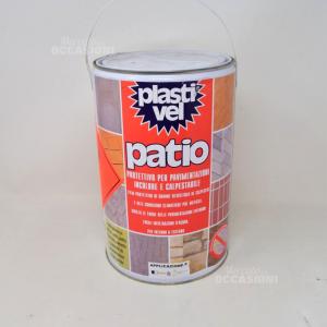 Protettivo Per Pavimentazioni In Color Calpestabile Plastivel Patio 5l New