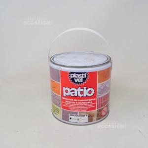 Protettivo Per Pavimentazioni In Color Calpestabile Plastivel Patio 2.5l