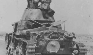ANSALDO M13/40 II SERIE MEDIUM TANK