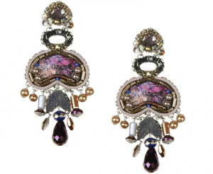 Dark Purple Earrings