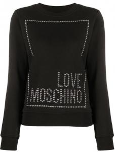 Felpa Love Moschino Borchie