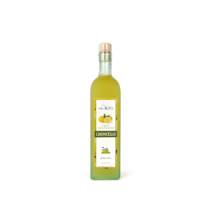 Organic Limoncello liqueur