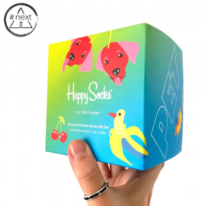 Happy Socks - Surreal Animal - Gift Box 4-Pack