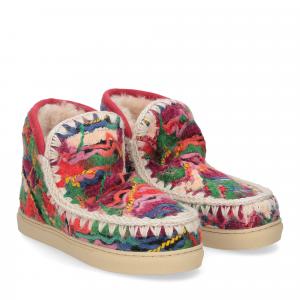 Mou Eskimo sneaker ethnic wool multicolor