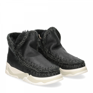 Mou Eskimo Trainer cracked black gray