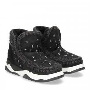 Mou Eskimo Trainer star studs black