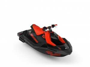 2021 - SPARK 2 UP TRIXX 90 BRP SEADOO (LAVA RED & DEEP BLACK)