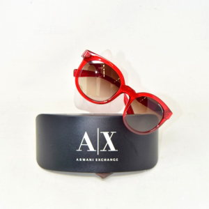 Sunglasses Armani Andxchange Red Ax4057sl 820913 53*22 140 3n With Case