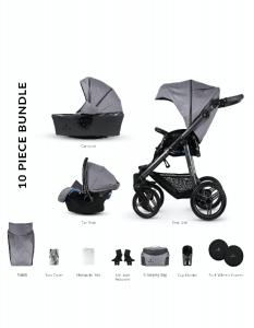 Trio Venicci carbo lux - sicurezza per il tuo bambino