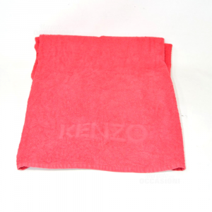 Towel Red Kenzo 66x120 Cm
