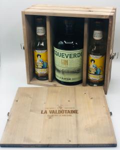 La Valdotaine -  Gin Acqueverdi LT.1 + 2 Tonic Polara CL.27,5