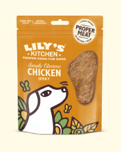 LILY'S KITCHEN SIMPLY GLORIOUS CHICKEN JERKY 70 GR. - scadenza 3/08/2021