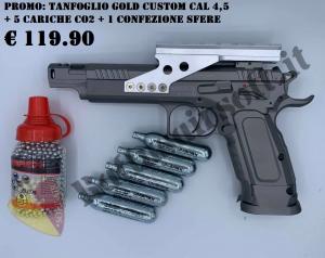 PROMOZIONE TANFOGLIO GOLD CUSTOM 2
