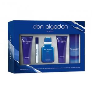 Don Algodon Man Eau De Toilette Spray 100ml Set 5 Parti 2020