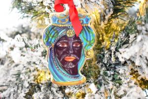 Testa di Moro decorazione albero Baci Milano Le gioie gio2