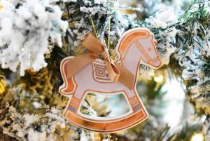 Cavalluccio decorazione albero Baci Milano Copper