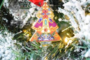 Albero decorazione albero Baci Milano Le Gioie
