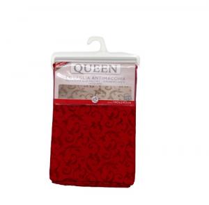 Tovaglia tavola elegante Queen Jaquard 140x240 rosso bordeaux