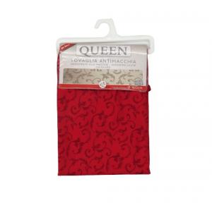 Tovaglia Queen Jacquard rotonda cm160 rosso bordeaux