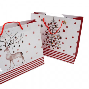 Borsa regalo di Natale 31x26x12