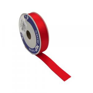 Nastro raso rosso 25mm