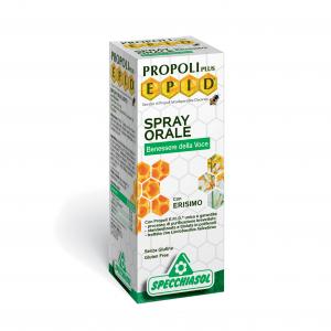 Specchiasol Propoli Plus Epid Spray Orale con Erisimo per la Voce
