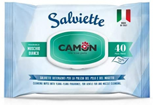CAMON SALVIETTE DETERGENTI IMBEVUTE 40PZ. MUSCHIO BIANCO
