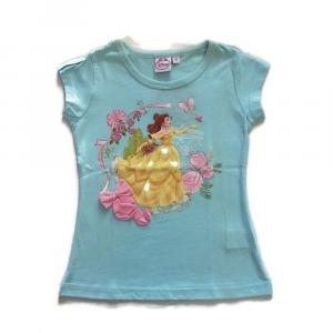 Maglietta bambina Principesse 2 anni - 92 cm manica corta