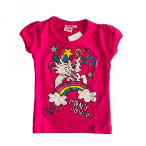Maglietta 2 anni bambina My Little Pony fucsia