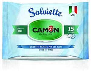 CAMON SALVIETTE DETERGENTI PER OCCHI 15PZ. ALOE