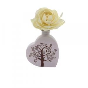 Diffusore profumo melograno cuore con fiore carta 200ml
