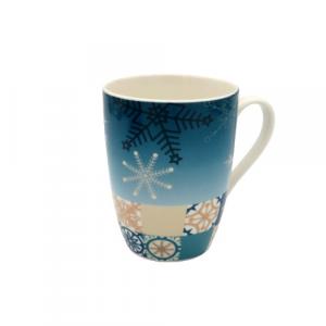 WALD tazza mug di Natale porcellana blu oro