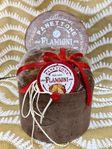 Panettone tradizionale Flamigni cappelliera 1 Kg. - Flamigni S.r.l. Forlì